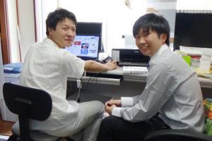 20140925 news 05 300x200 - 日本経済大学のインターンシップの受け入れを行ないました。