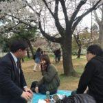千鳥ケ淵公園でお花見