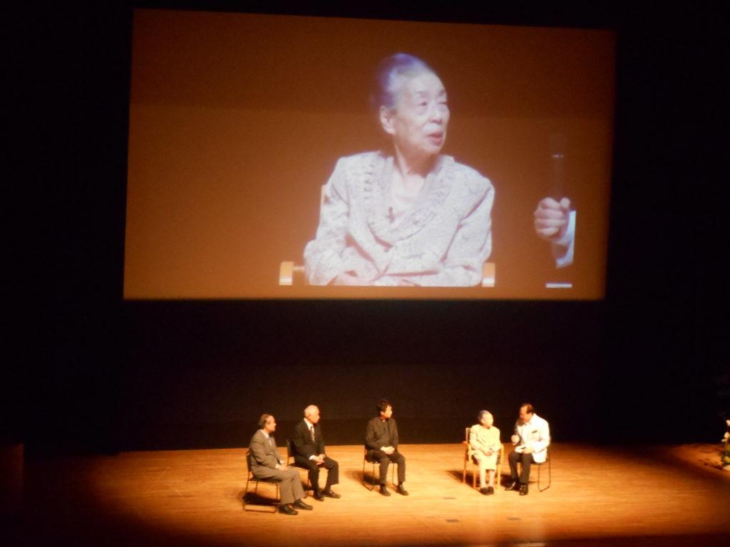 DSCN3843 1024x768 - 佐藤初女先生の出版記念講演会「限りなく透明に凛として生きる」