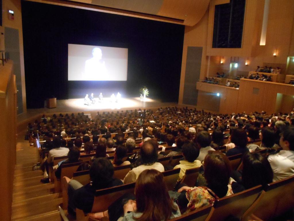 DSCN3848 1024x768 - 佐藤初女先生の出版記念講演会「限りなく透明に凛として生きる」
