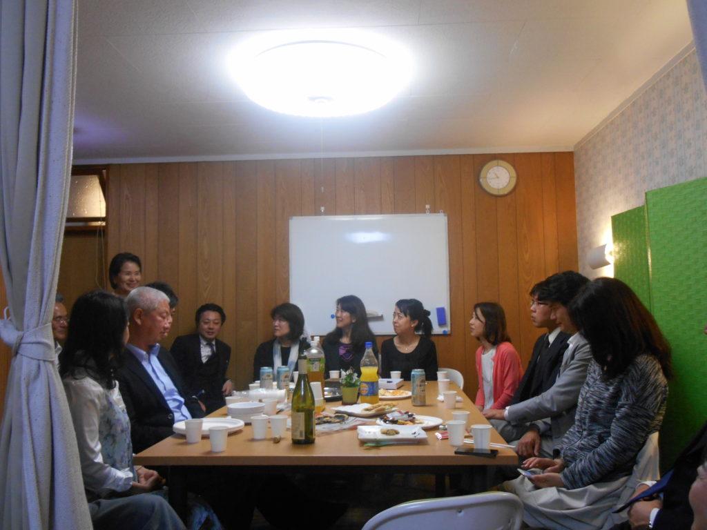 DSCN3878 1024x768 - 佐藤初女先生の出版記念講演会「限りなく透明に凛として生きる」