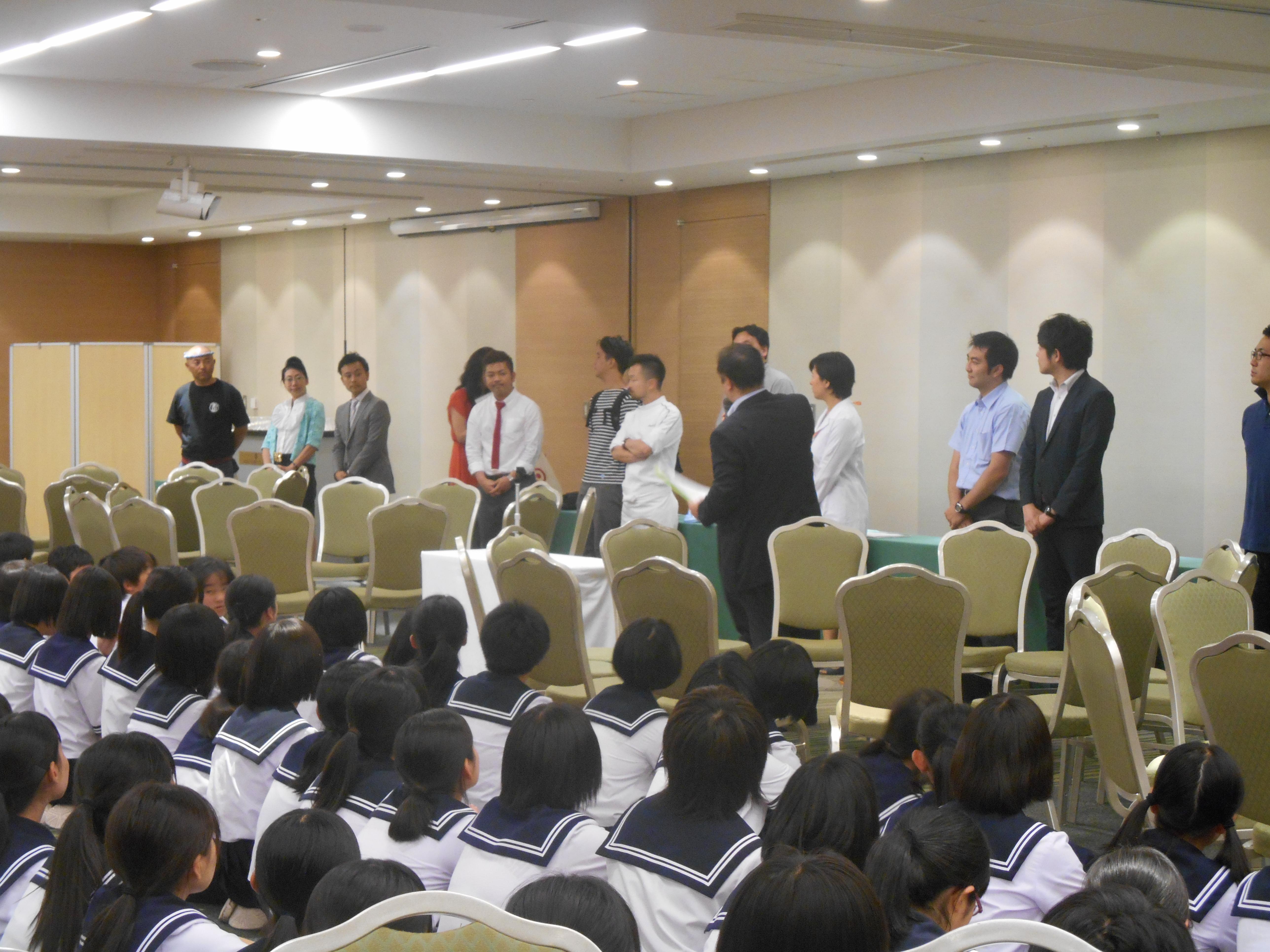 DSCN4369 - AOsuki主催:青森市内の中学校(修学旅行)に夢を与える時間