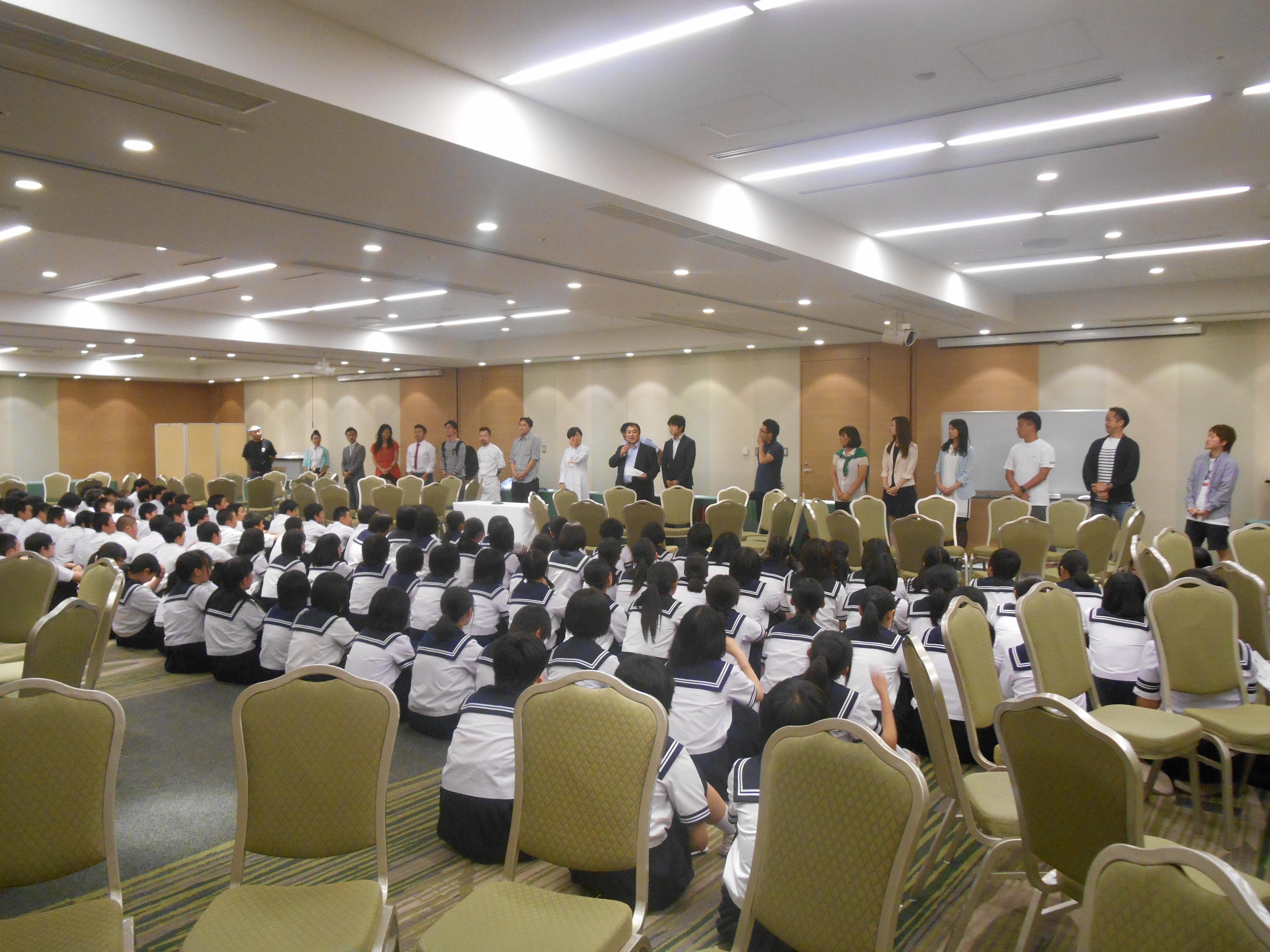 DSCN4372 - AOsuki主催:青森市内の中学校(修学旅行)に夢を与える時間