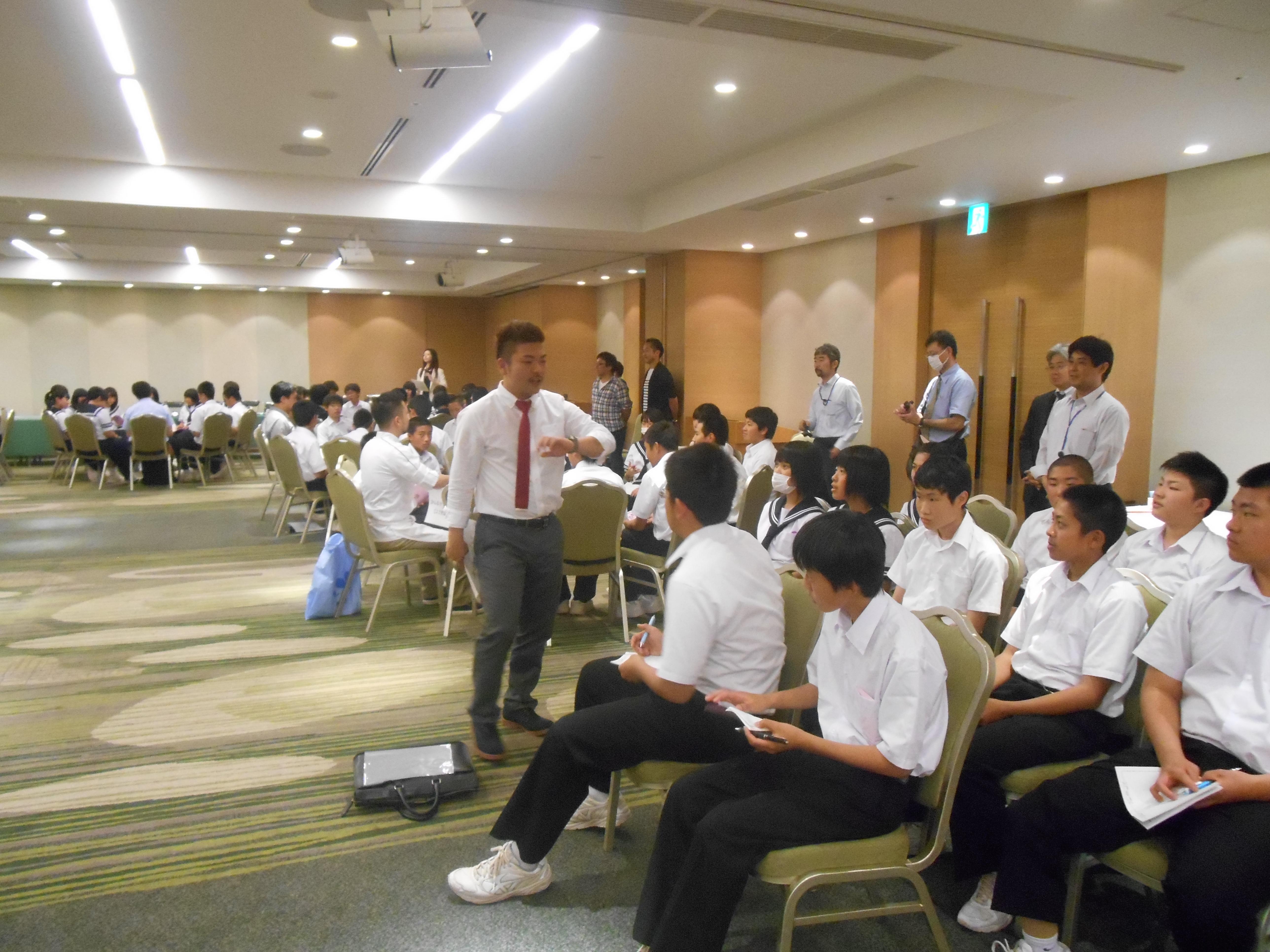 DSCN4386 - AOsuki主催:青森市内の中学校(修学旅行)に夢を与える時間