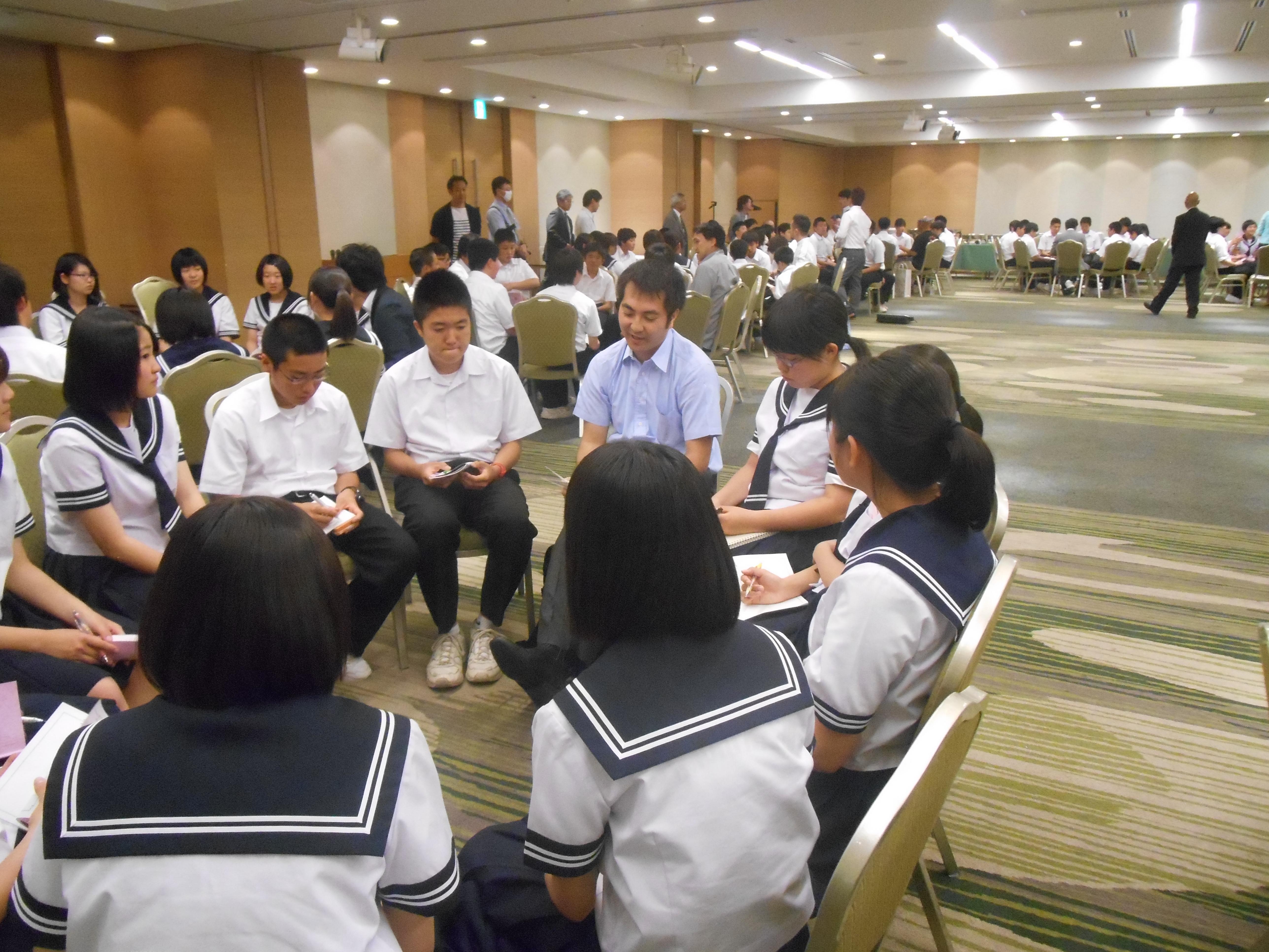 DSCN4403 - AOsuki主催:青森市内の中学校(修学旅行)に夢を与える時間