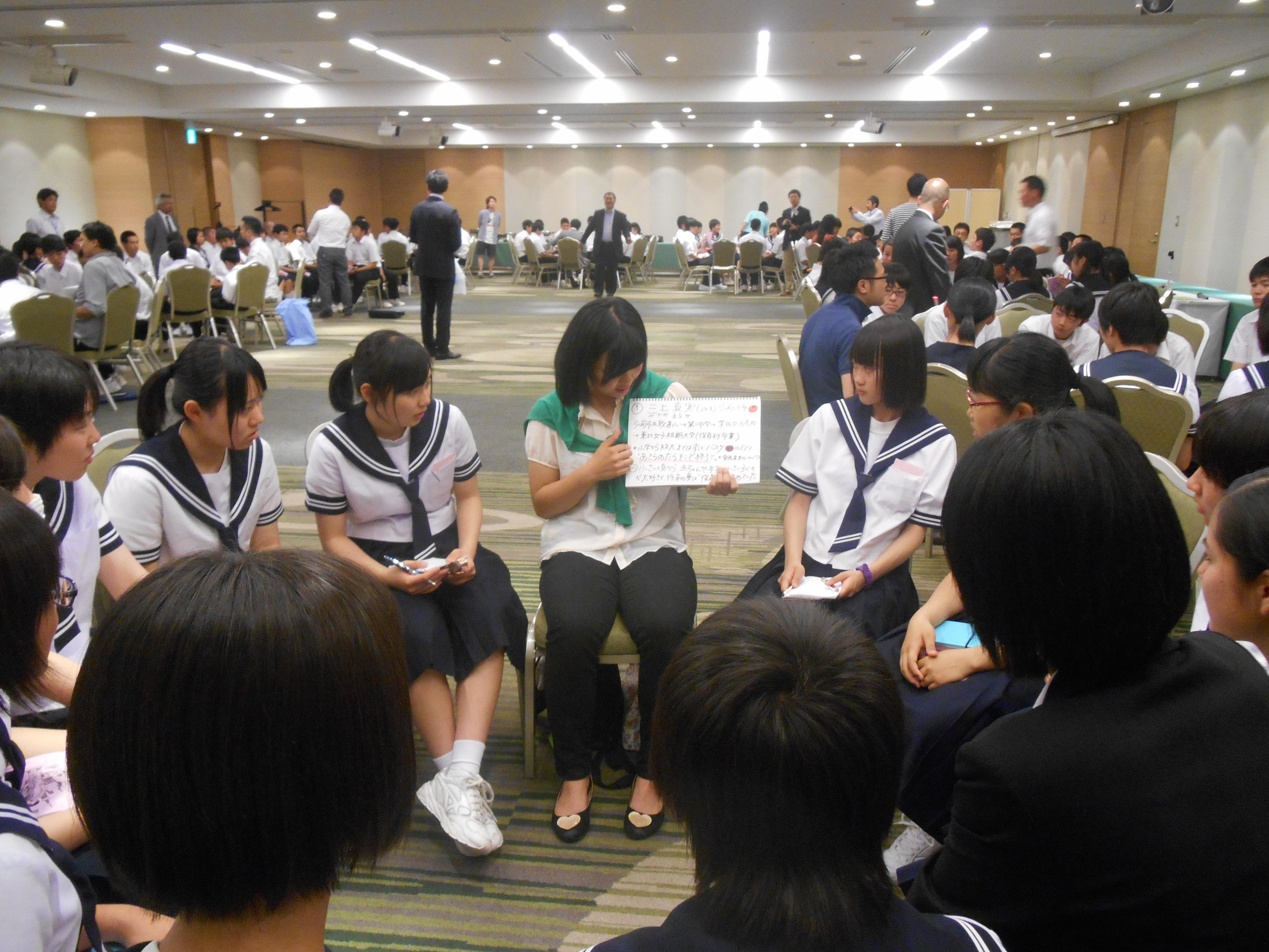 DSCN4407 - AOsuki主催:青森市内の中学校(修学旅行)に夢を与える時間