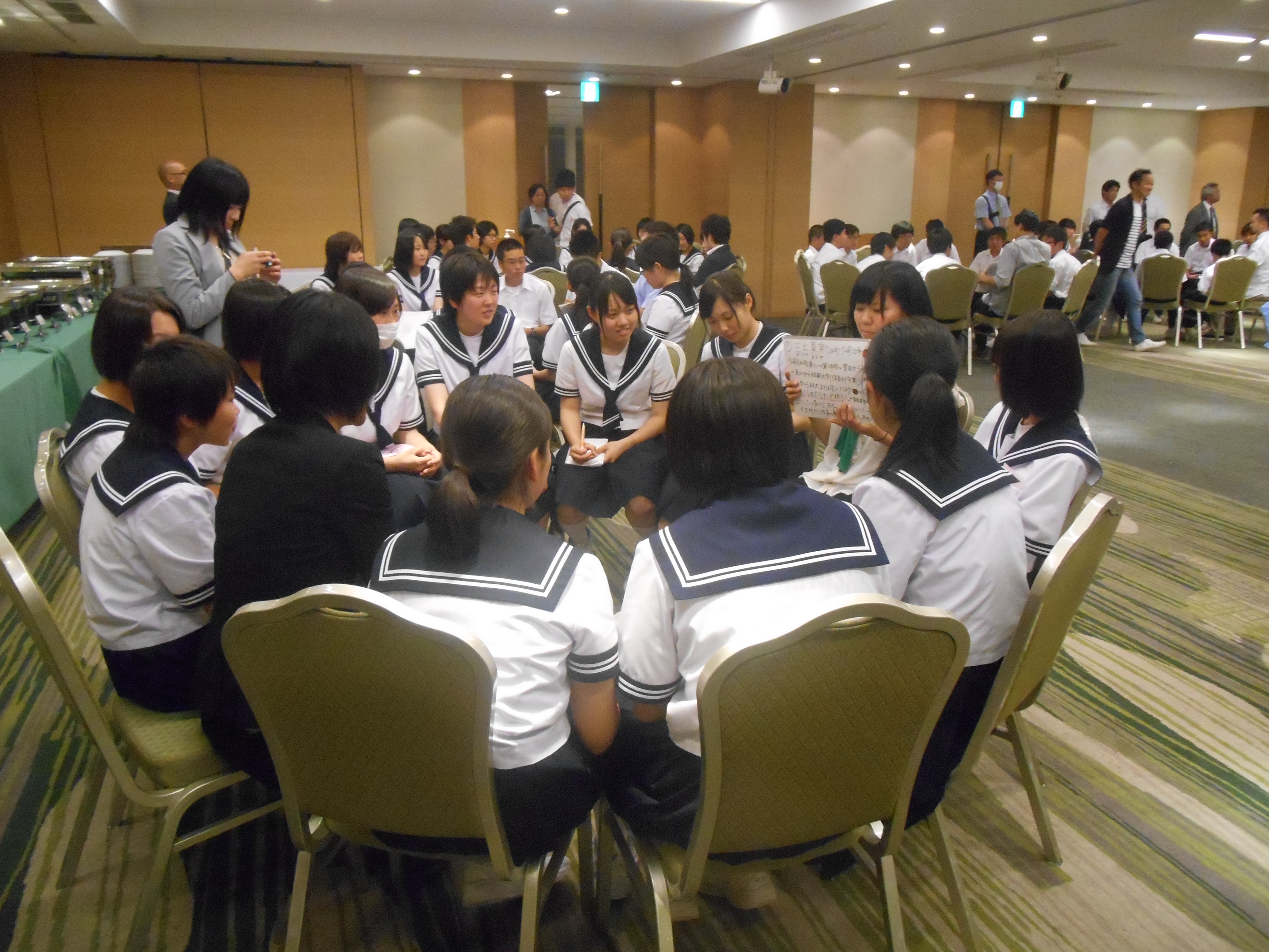 DSCN4408 - AOsuki主催:青森市内の中学校(修学旅行)に夢を与える時間