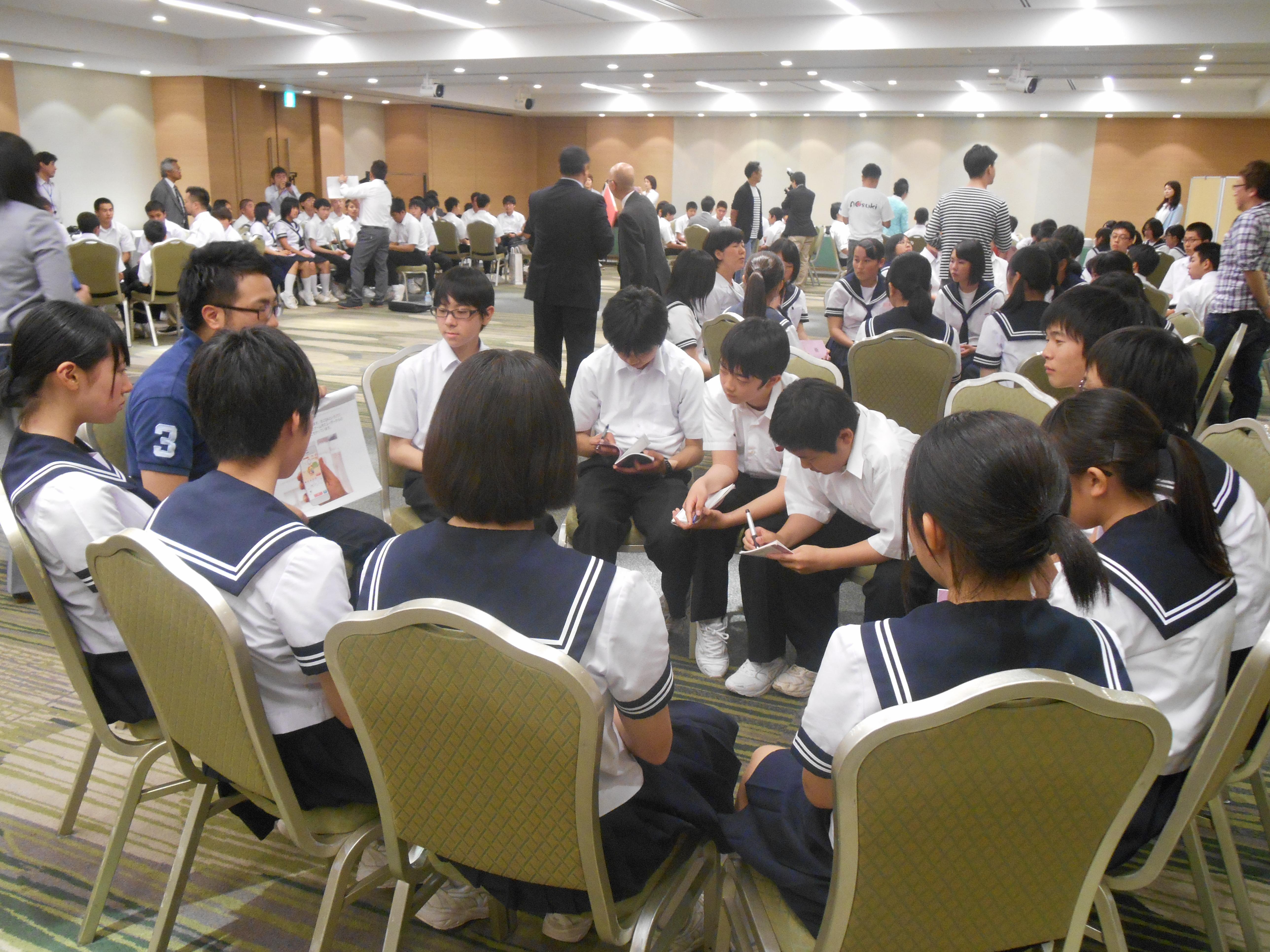 DSCN4409 - AOsuki主催:青森市内の中学校(修学旅行)に夢を与える時間