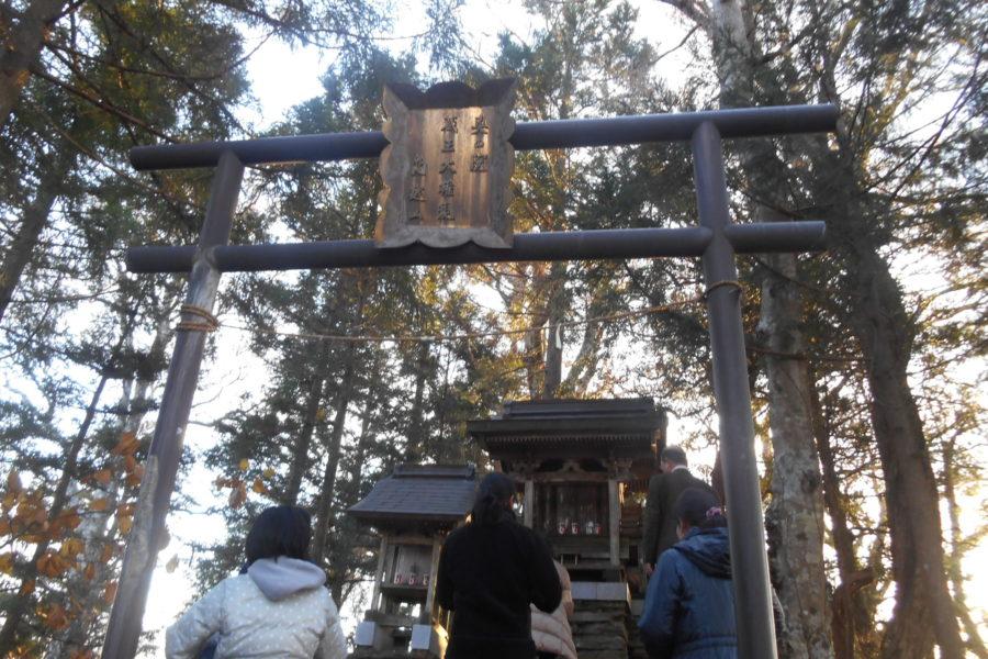 DSCN2222 900x600 - 2016年11月 剣山を訪ね、女神の遊雅さを楽しむ女神ツアー