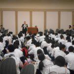 2014年9月24日 板柳中学校