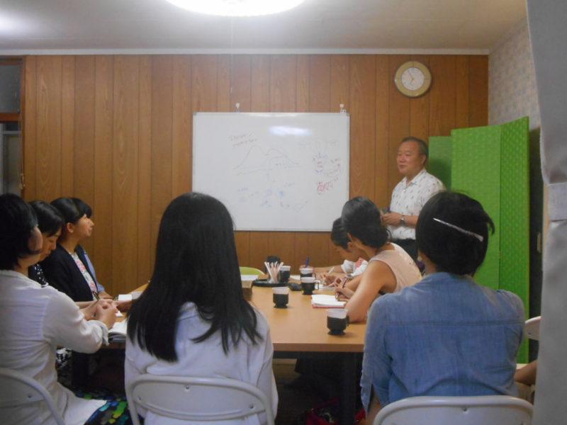 DSCN1854 800x600 - 2016年7月21日池川明先生、愛の子育て塾8期第1講座開催しました。
