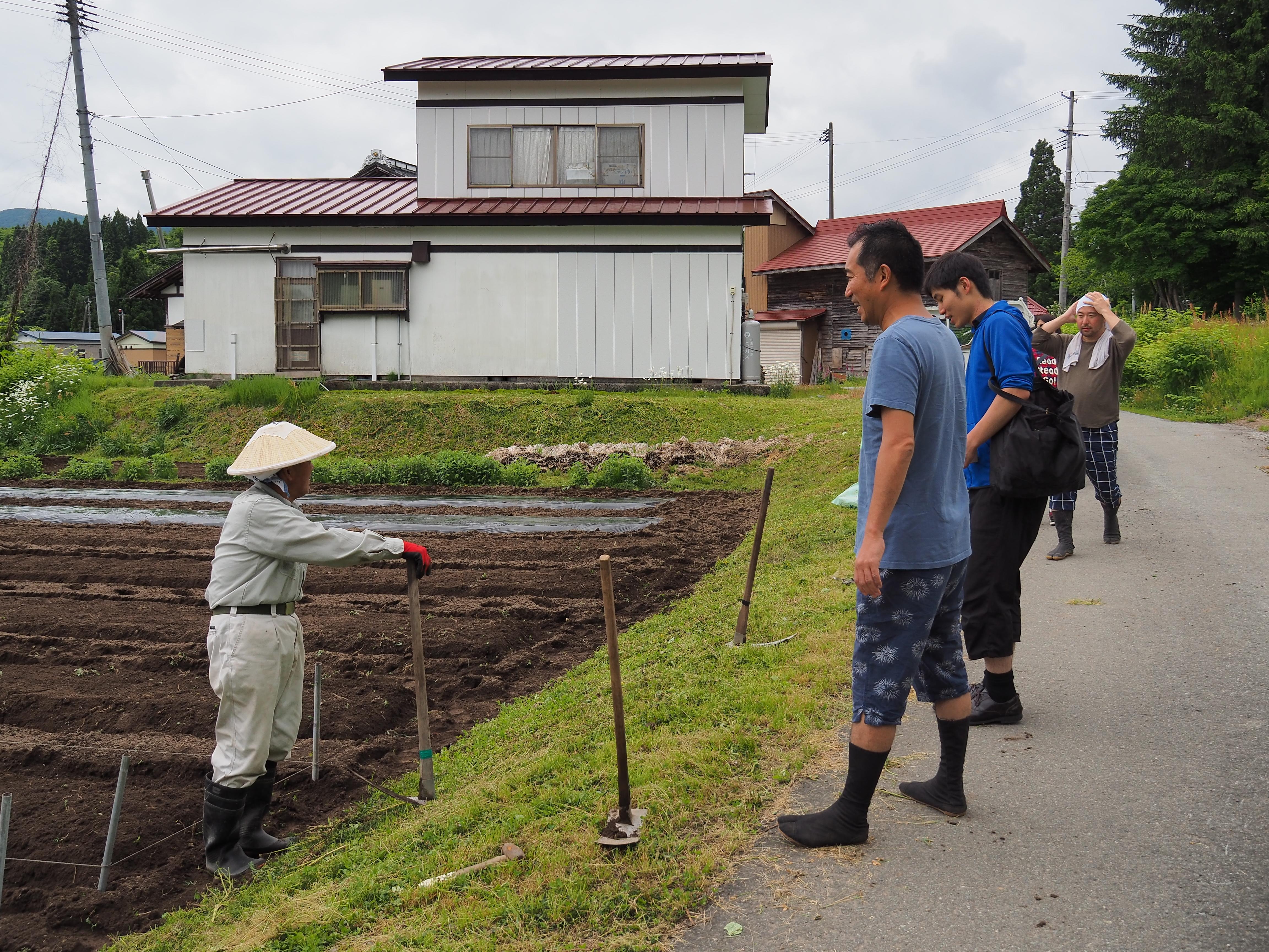 P6170012 - 山形県戸沢村での農業イベント