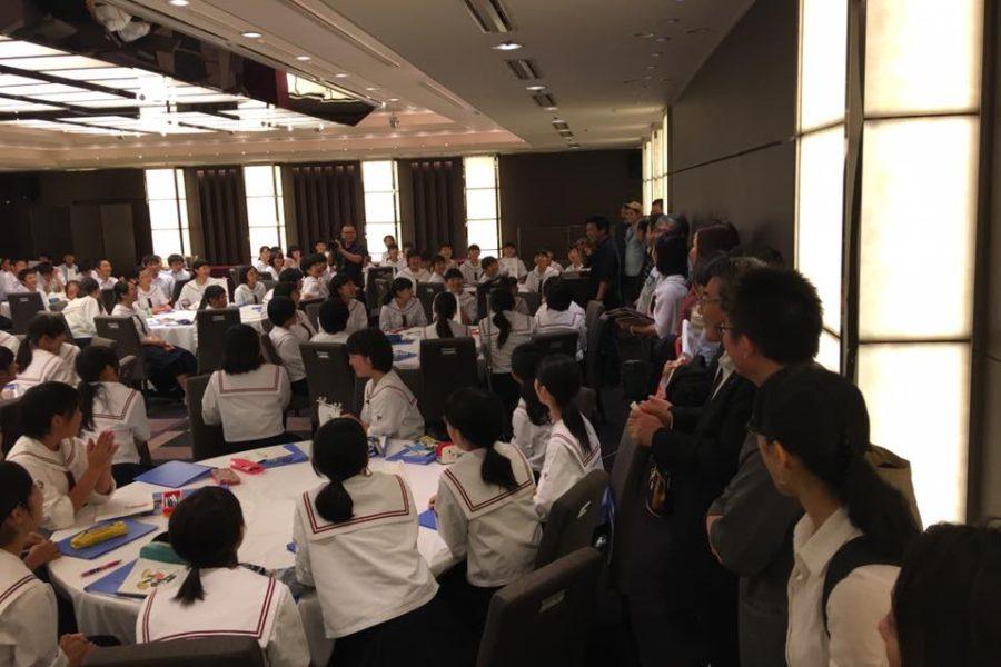 14494767 1095043993912173 5546591730251607110 n 900x600 - AOsuki フューチャーズゼミ事前飲み会議 2018年4月18日の青森市の中学校がAFS決定しました。