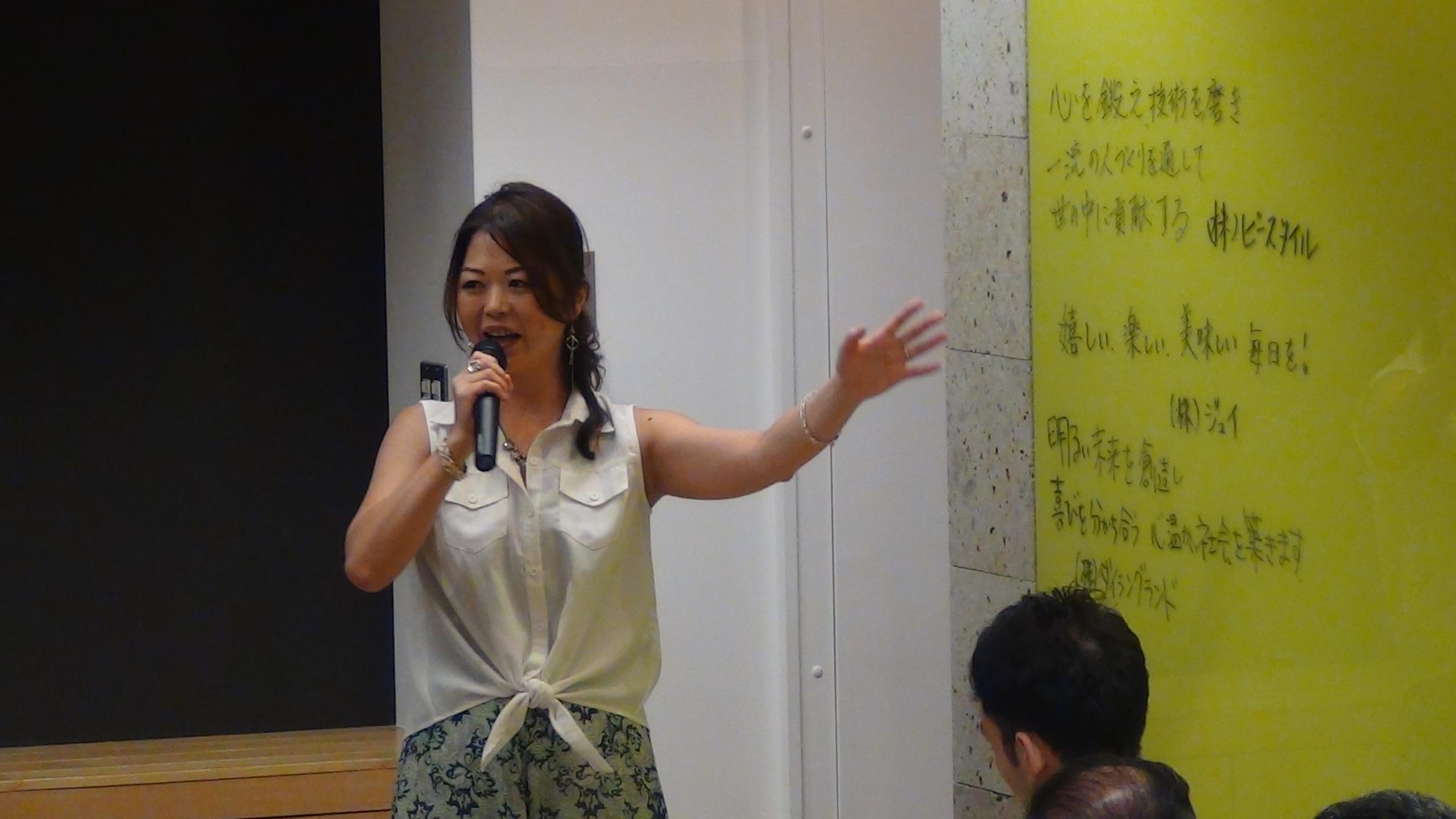 DSC00426 - 2017年8月5日東京思風塾「心が燃える理念とは〜自社の理念を問い直す〜」
