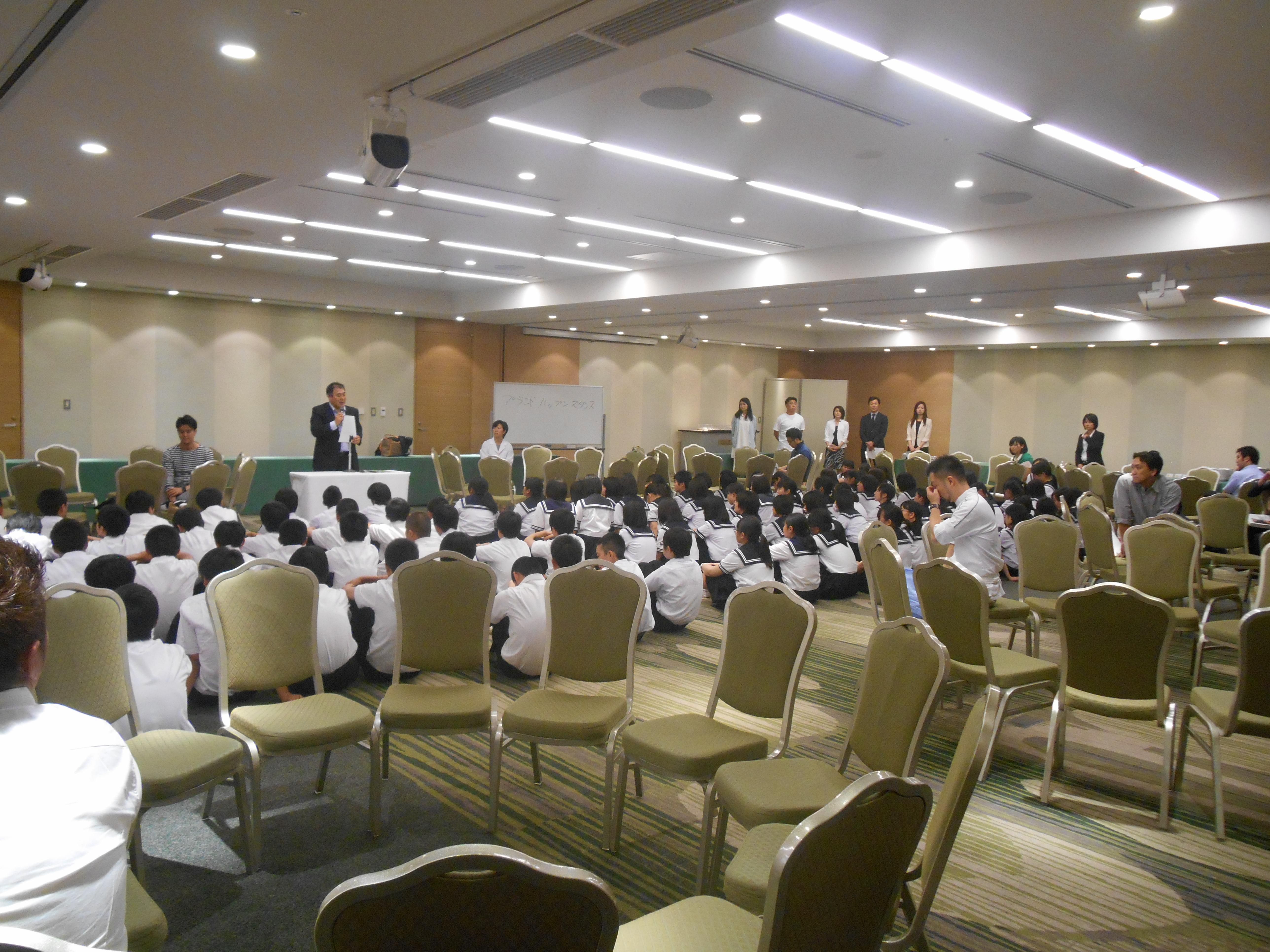 DSCN4380 - AOsuki フューチャーズゼミ事前飲み会議 2018年4月18日の青森市の中学校がAFS決定しました。