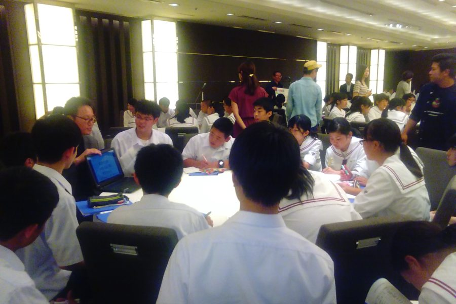 KIMG0152 900x600 - AOsuki フューチャーズゼミ事前飲み会議 2018年4月18日の青森市の中学校がAFS決定しました。