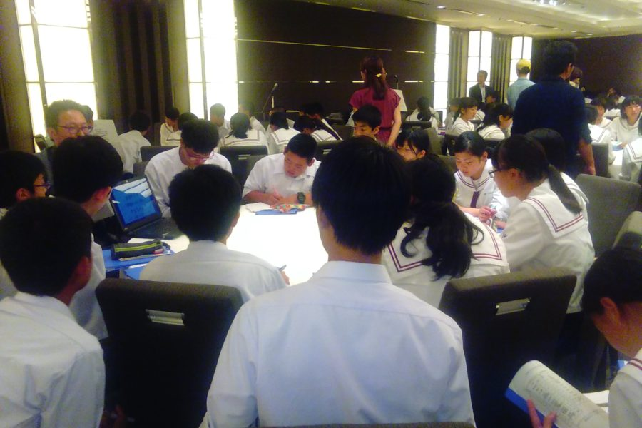 KIMG0153 900x600 - AOsuki フューチャーズゼミ事前飲み会議 2018年4月18日の青森市の中学校がAFS決定しました。