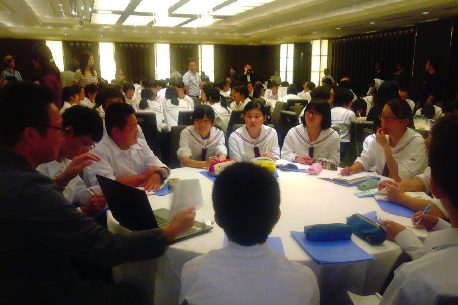 KIMG0155 900x600 - AOsuki フューチャーズゼミ事前飲み会議 2018年4月18日の青森市の中学校がAFS決定しました。
