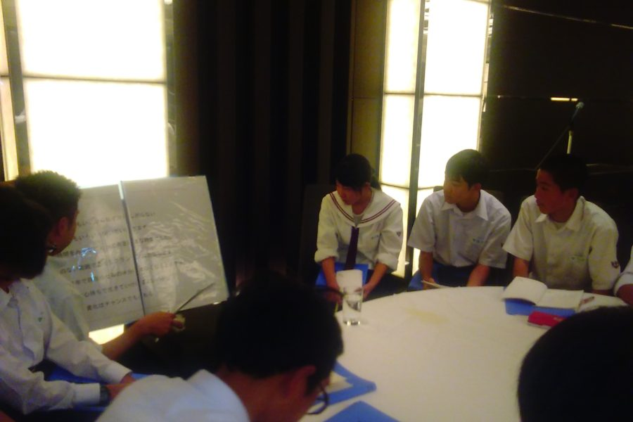 KIMG0157 900x600 - AOsuki フューチャーズゼミ事前飲み会議 2018年4月18日の青森市の中学校がAFS決定しました。