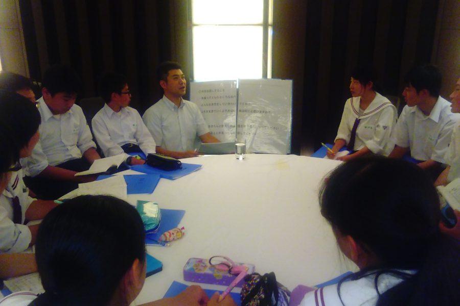 KIMG0159 900x600 - AOsuki フューチャーズゼミ事前飲み会議 2018年4月18日の青森市の中学校がAFS決定しました。