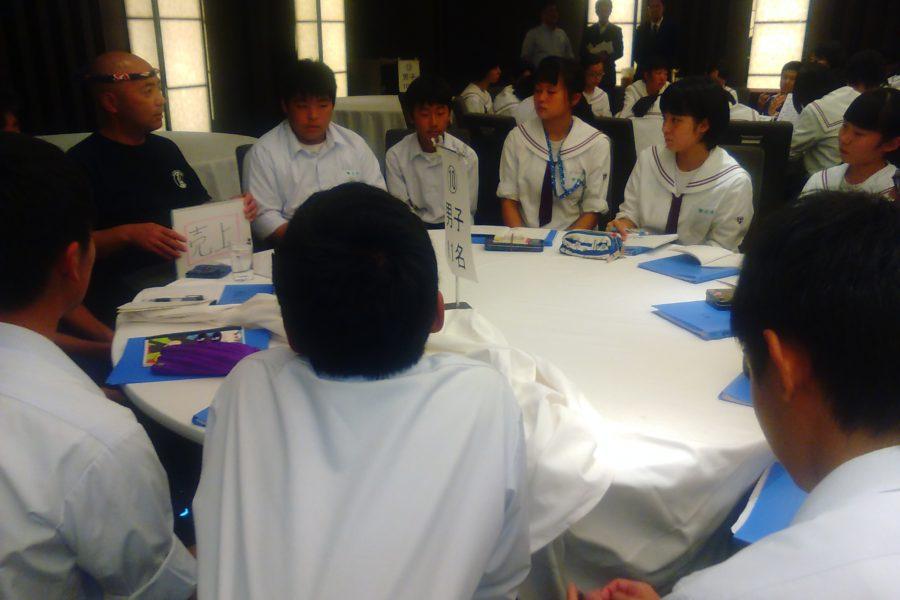 KIMG0173 900x600 - AOsuki フューチャーズゼミ事前飲み会議 2018年4月18日の青森市の中学校がAFS決定しました。