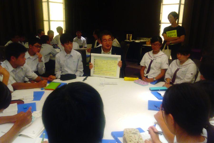 KIMG0177 900x600 - AOsuki フューチャーズゼミ事前飲み会議 2018年4月18日の青森市の中学校がAFS決定しました。