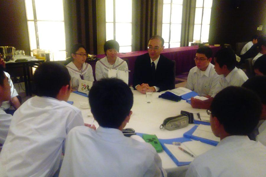 KIMG0182 900x600 - AOsuki フューチャーズゼミ事前飲み会議 2018年4月18日の青森市の中学校がAFS決定しました。