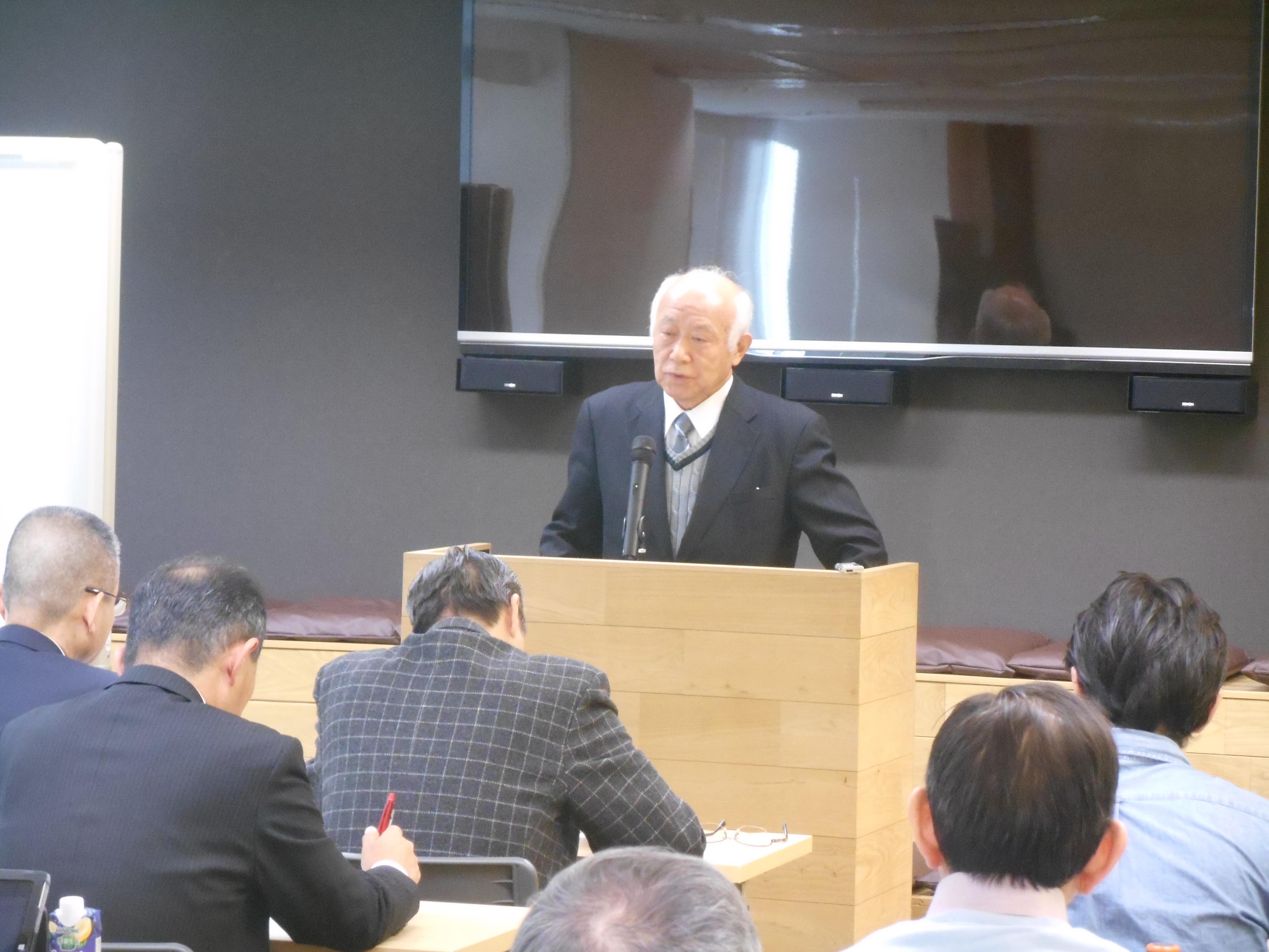 DSCN0041 1 - 平成30年度 東京思風塾 4月7日(土)「時代が問題をつくり、問題が人物をつくる」