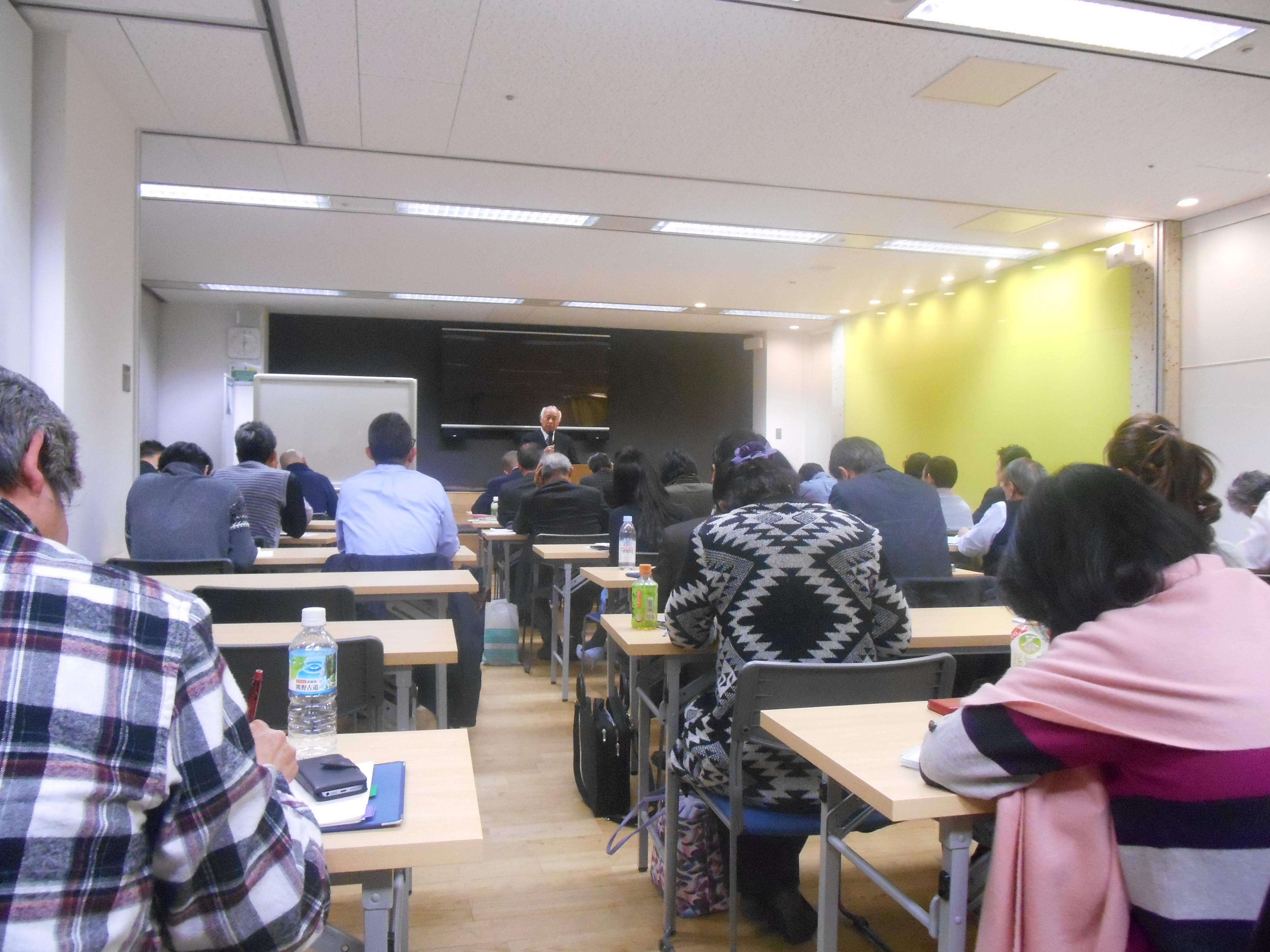 DSCN0056 1 - 平成30年度 東京思風塾 4月7日(土)「時代が問題をつくり、問題が人物をつくる」