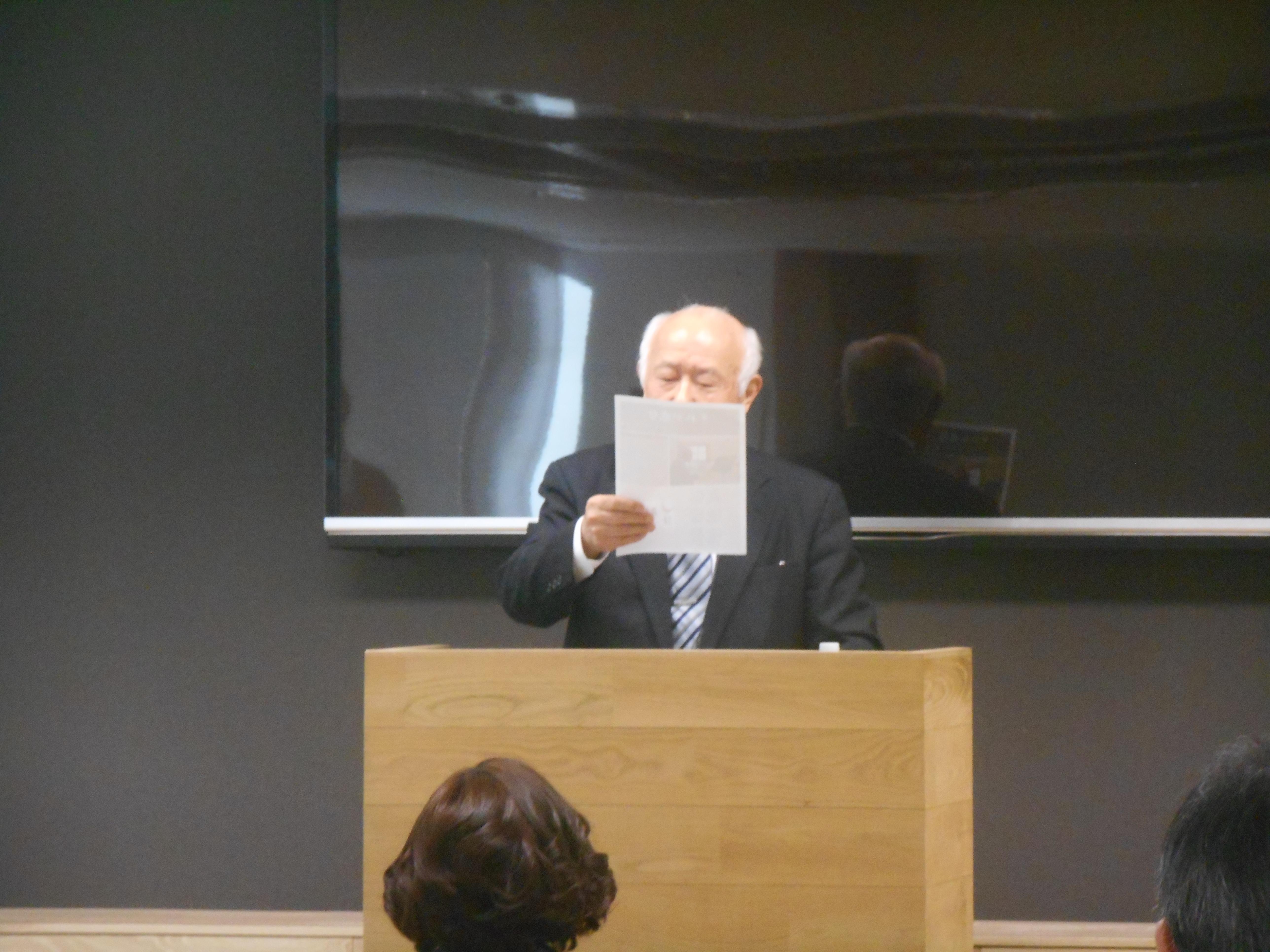 DSCN0425 - 平成30年度 東京思風塾 4月7日(土)「時代が問題をつくり、問題が人物をつくる」