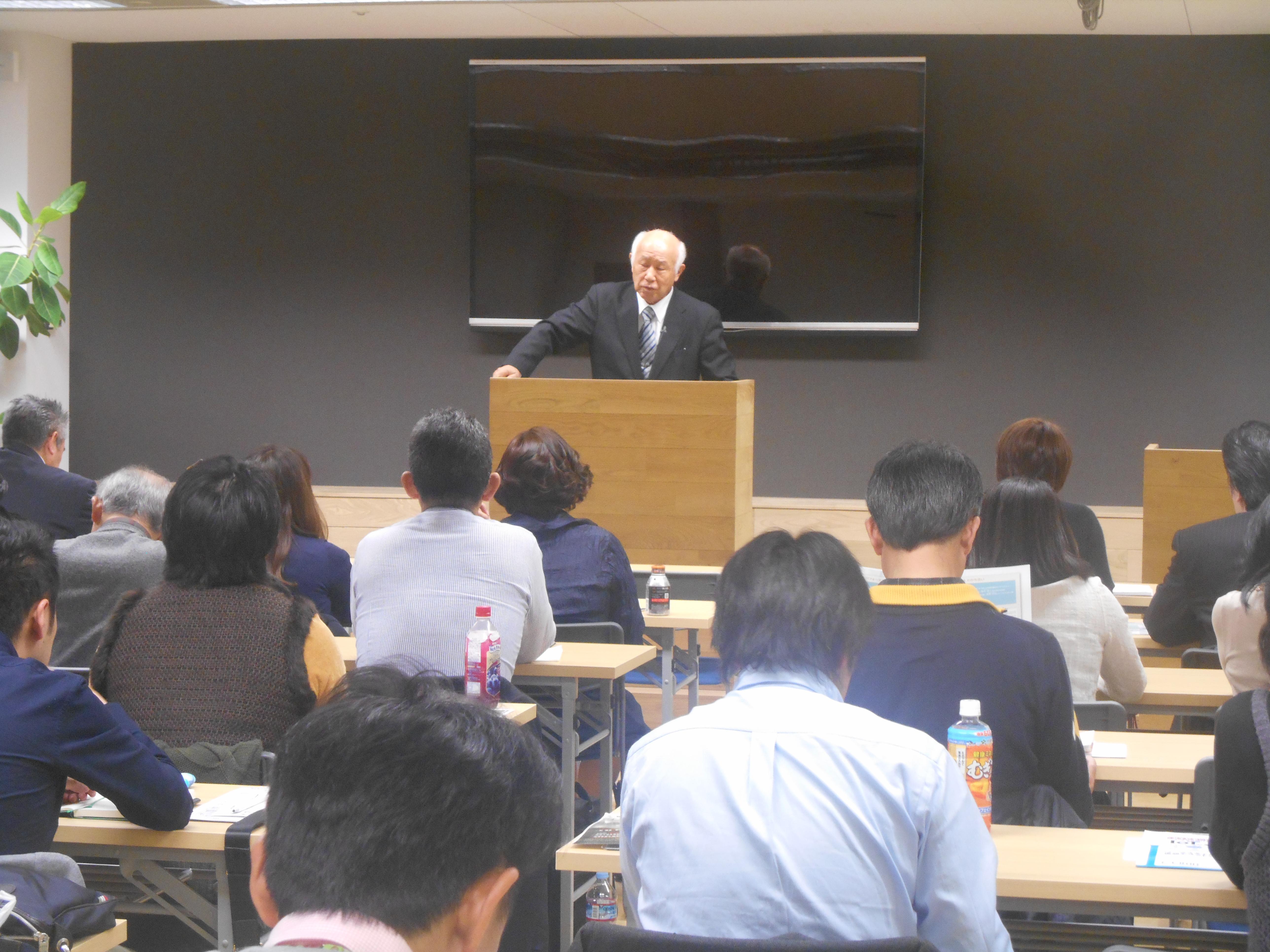 DSCN0455 1 - 平成30年度 東京思風塾 4月7日(土)「時代が問題をつくり、問題が人物をつくる」