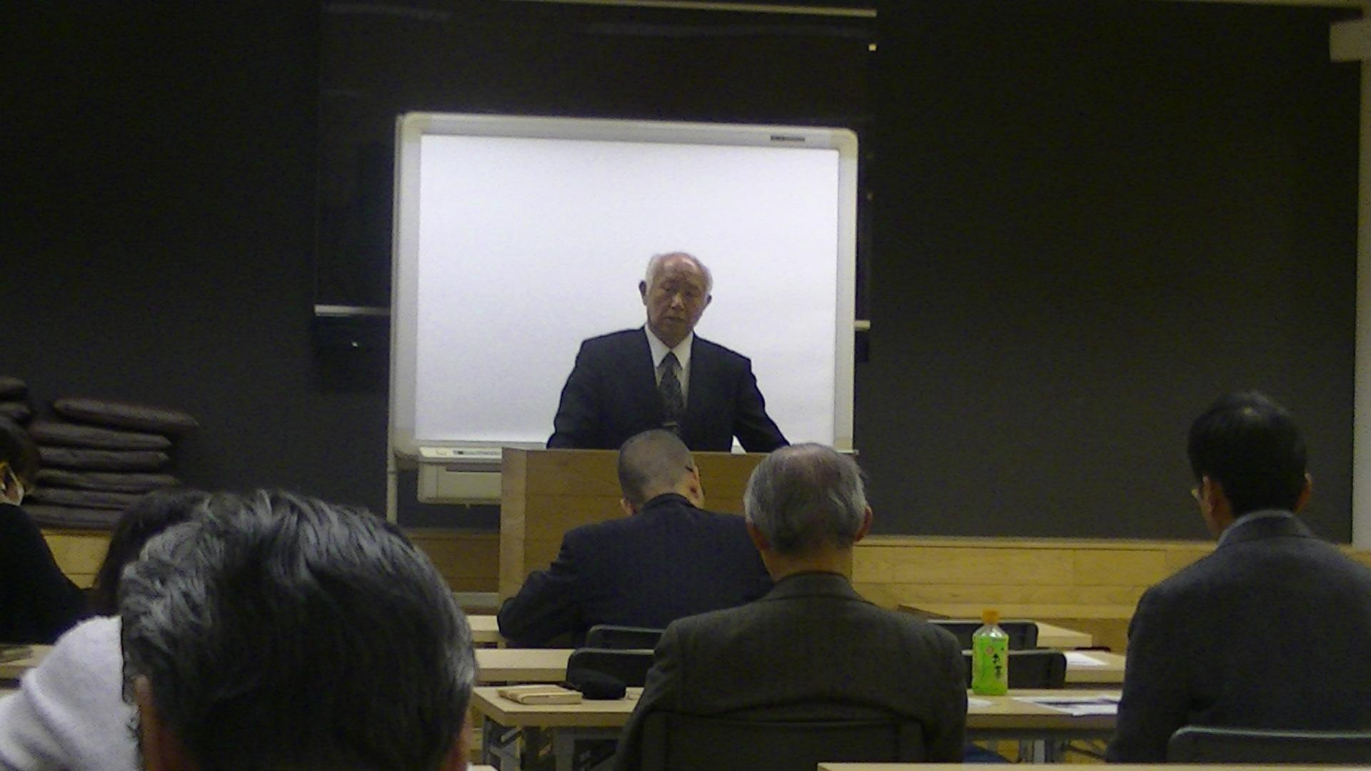 PIC 0095 - 平成30年度 東京思風塾 4月7日(土)「時代が問題をつくり、問題が人物をつくる」