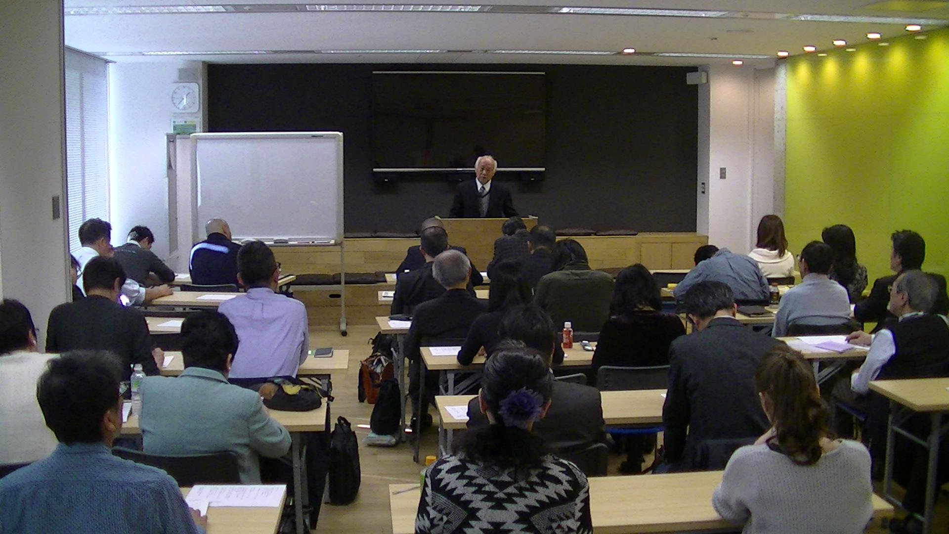 PIC 0697 - 平成30年度 東京思風塾 4月7日(土)「時代が問題をつくり、問題が人物をつくる」