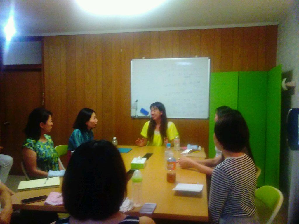 20180823192525 1024x768 - 2018年8月23日愛の子育て塾第13期第1講座開催しました。