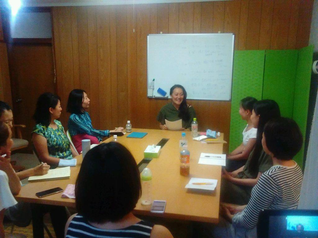 20180823194933 1024x768 - 2018年8月23日愛の子育て塾第13期第1講座開催しました。