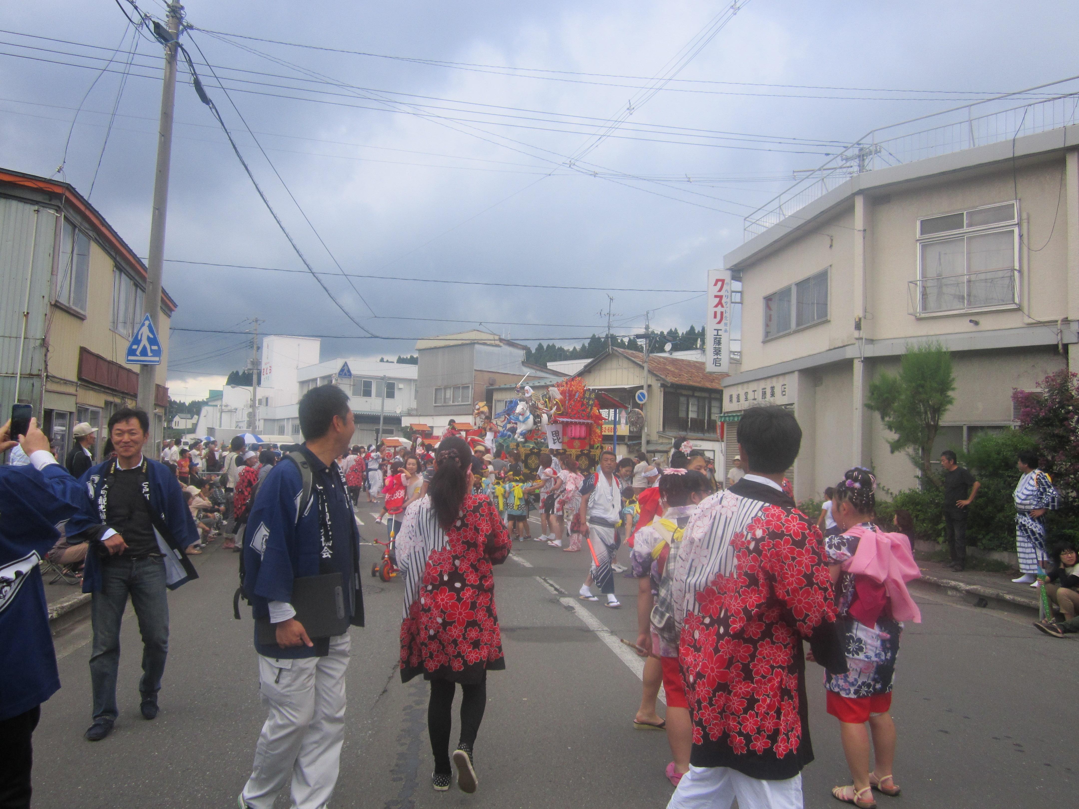 IMG 4255 - 麻布十番納涼祭り25,26日(七戸町出店)