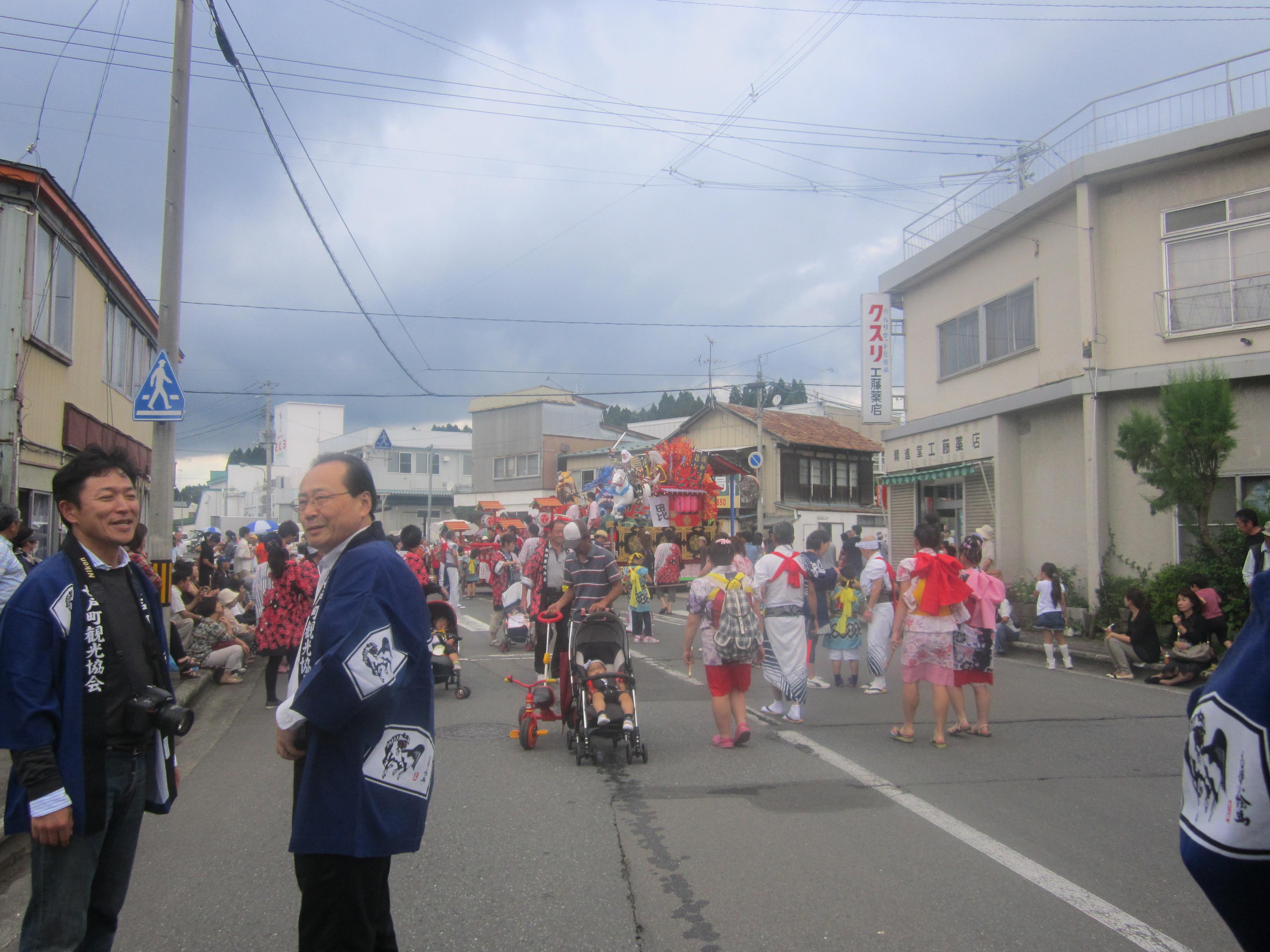 IMG 4256 - 麻布十番納涼祭り25,26日(七戸町出店)