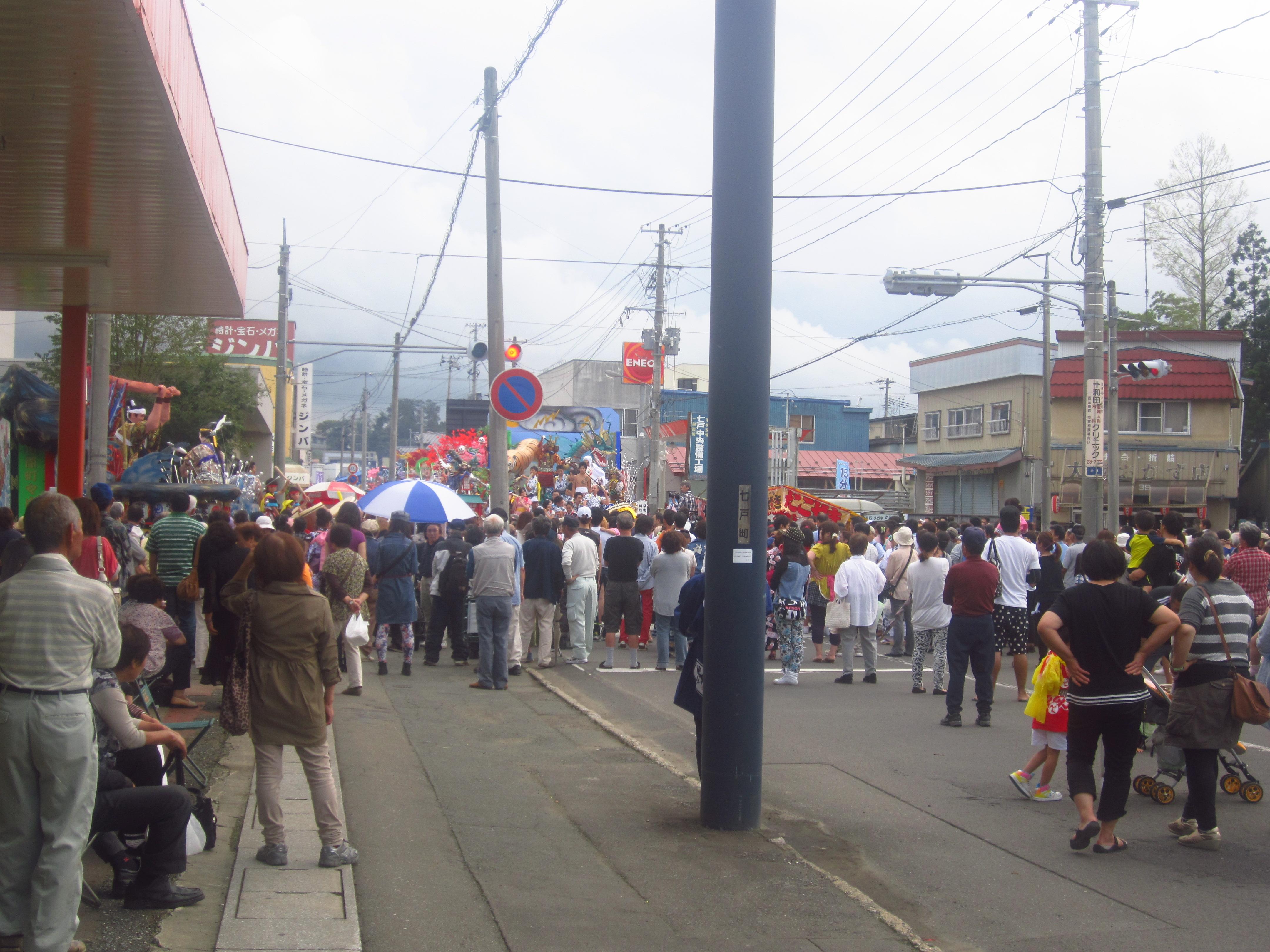 IMG 4274 - 麻布十番納涼祭り25,26日(七戸町出店)