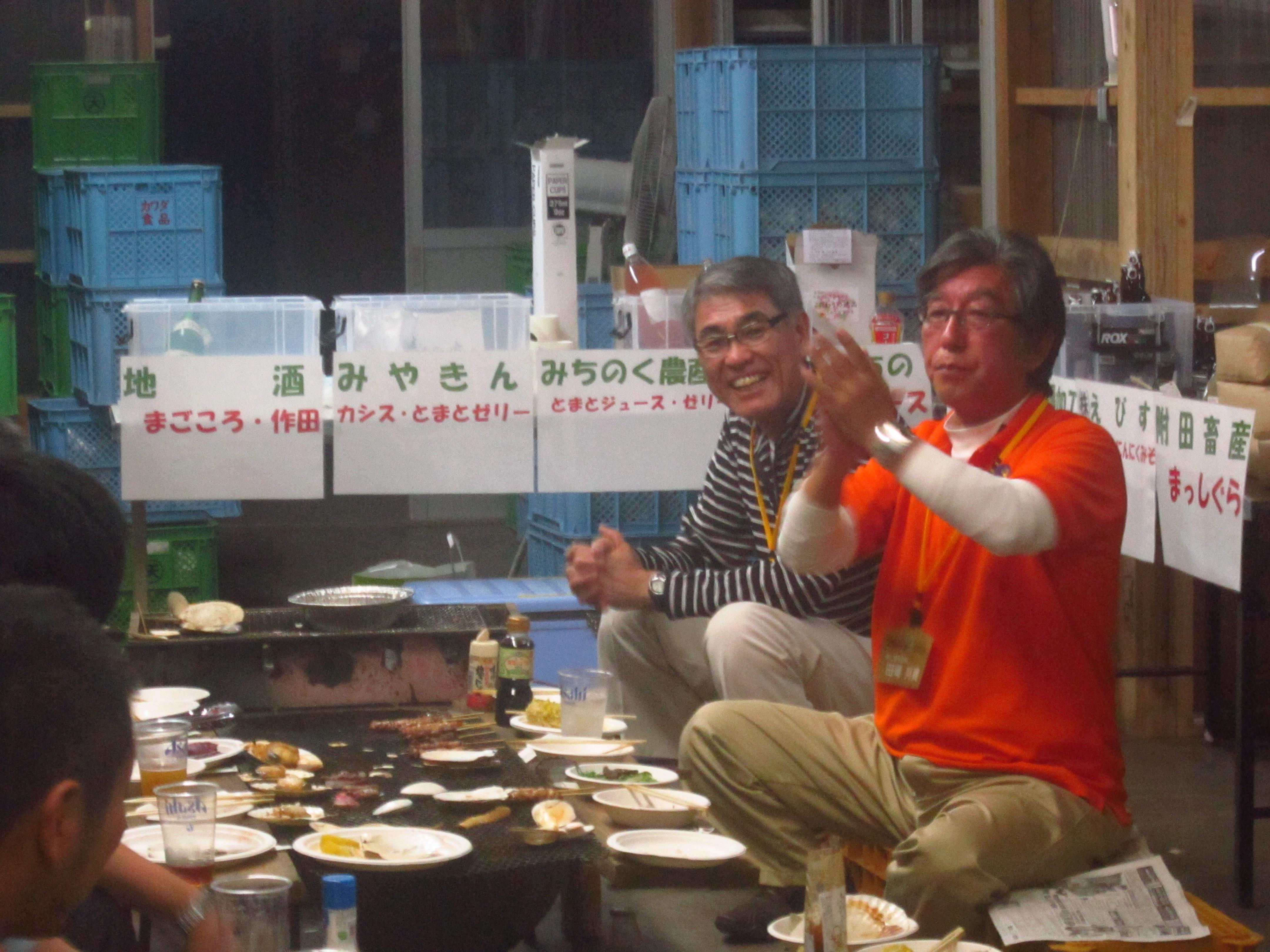 IMG 4318 - 麻布十番納涼祭り25,26日(七戸町出店)