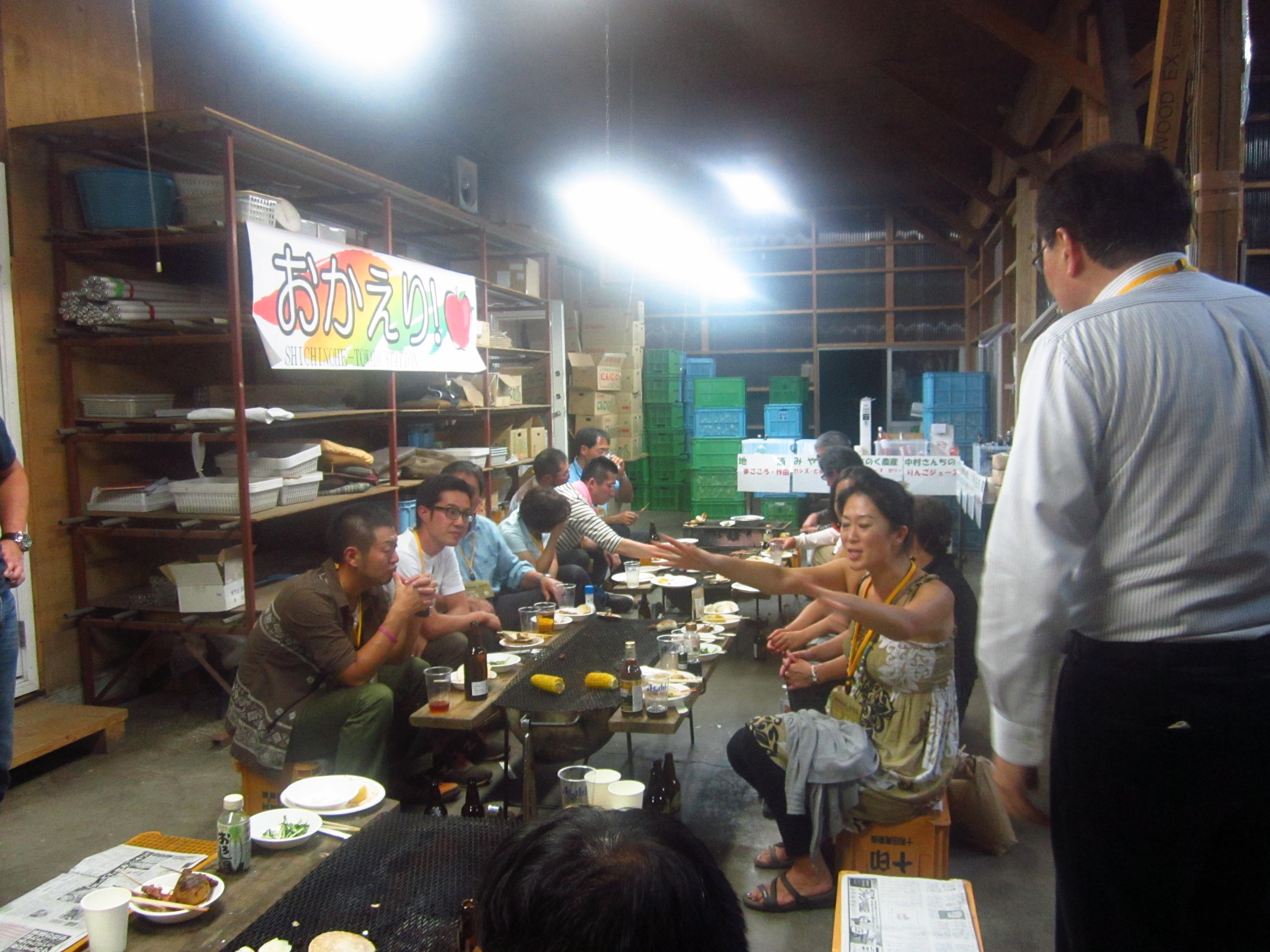 IMG 4353 - 麻布十番納涼祭り25,26日(七戸町出店)