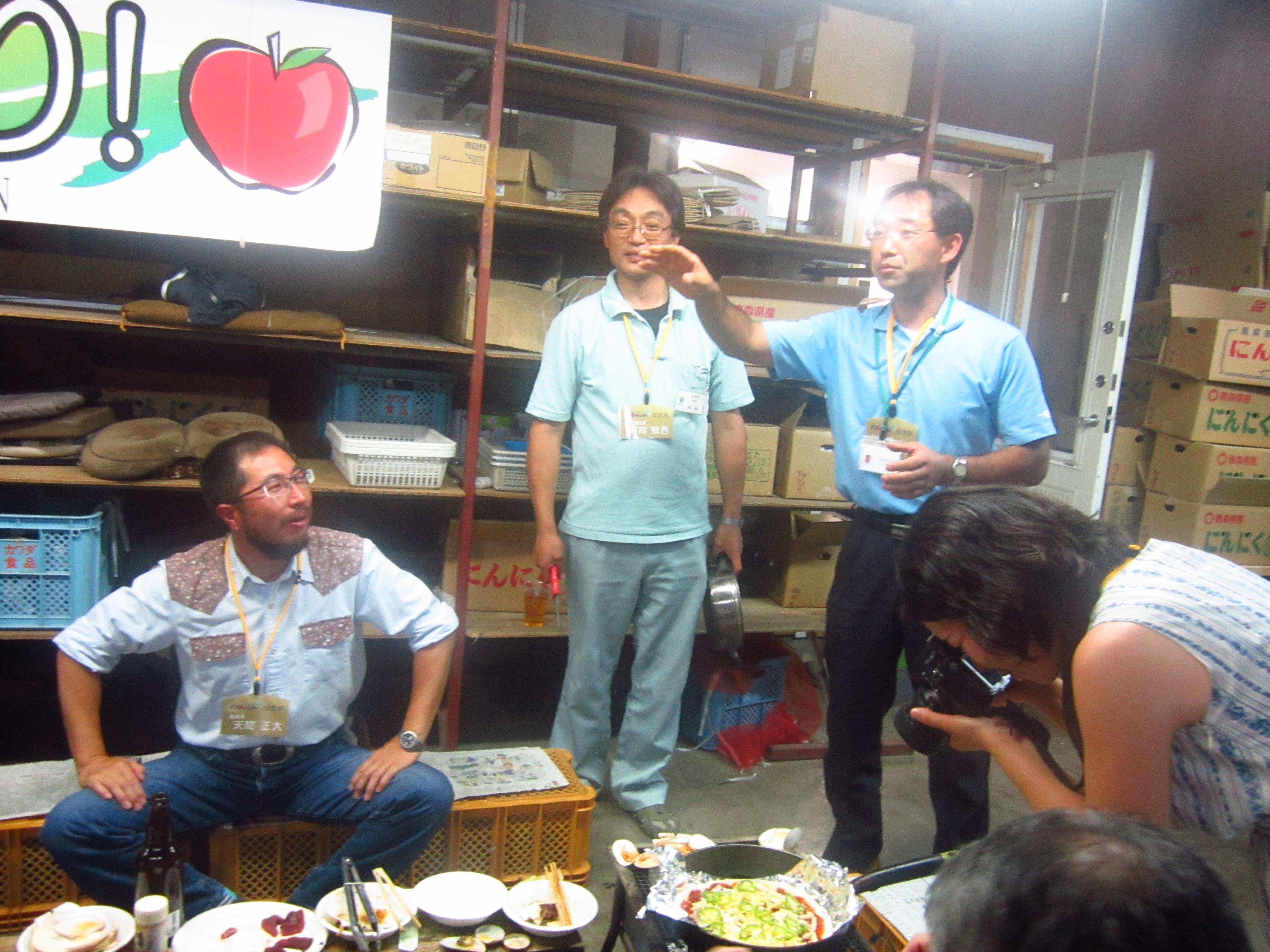 IMG 4429 - 麻布十番納涼祭り25,26日(七戸町出店)