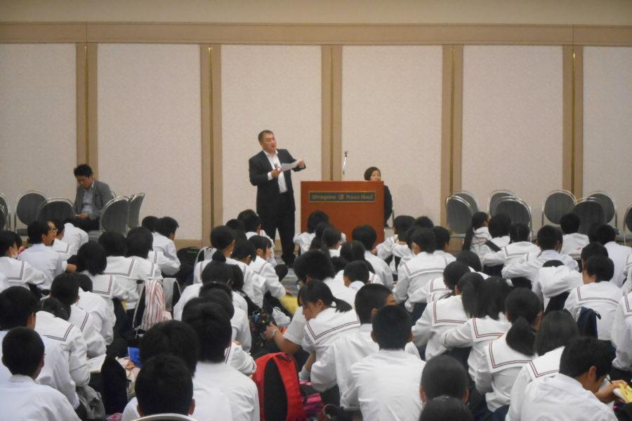 DSCN1402 900x600 - アオスキ主催東北中学校(修学旅行)に夢を与える時間