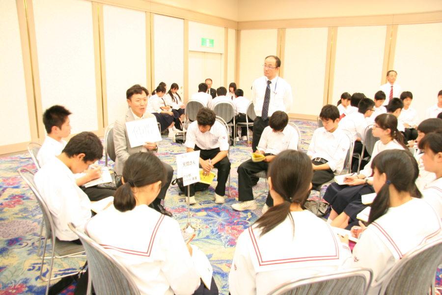 IMG 7432 900x600 - アオスキ主催東北中学校(修学旅行)に夢を与える時間