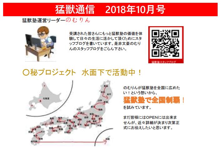 frwerf2334 - 猛獣塾入門講座2018年後半戦突入!