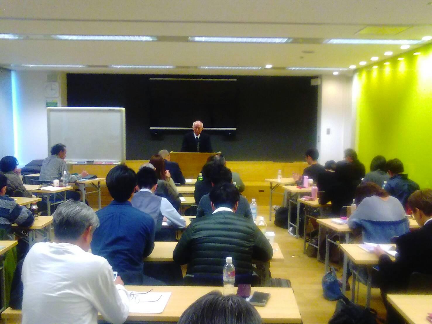 105857 1 - 2019年2月2日(土)第1回東京思風塾「第二の黎明期を作る問いとは」をテーマに開催