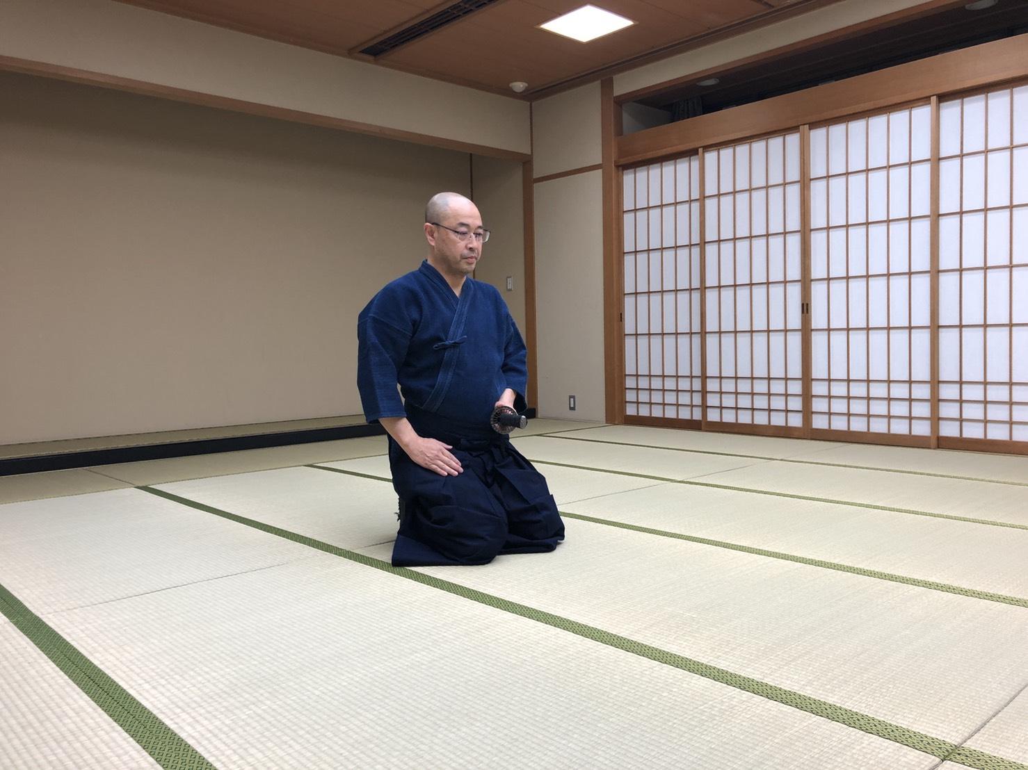 S  84181020 - 釈正輪老師、武道礼法&呼吸法開催