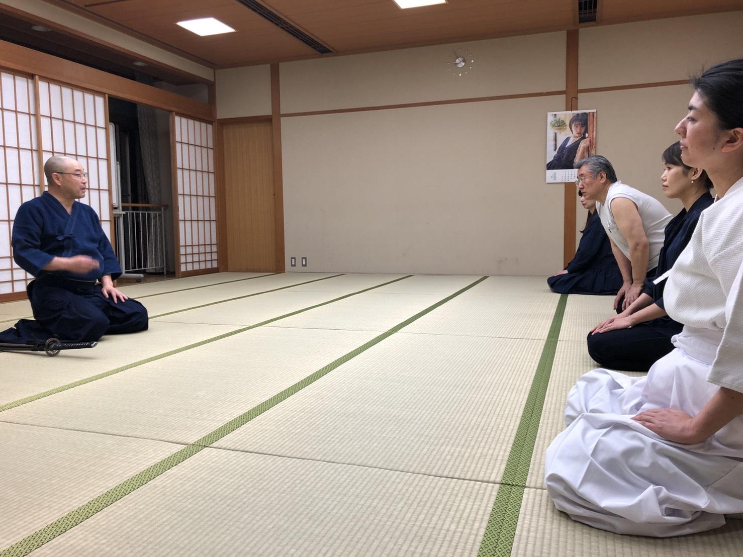 S  84181021 - 釈正輪老師、武道礼法&呼吸法開催