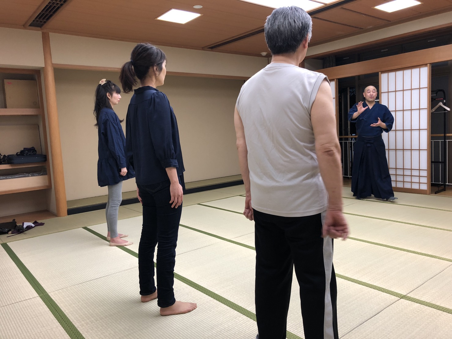 S  84181023 - 釈正輪老師、武道礼法&呼吸法開催
