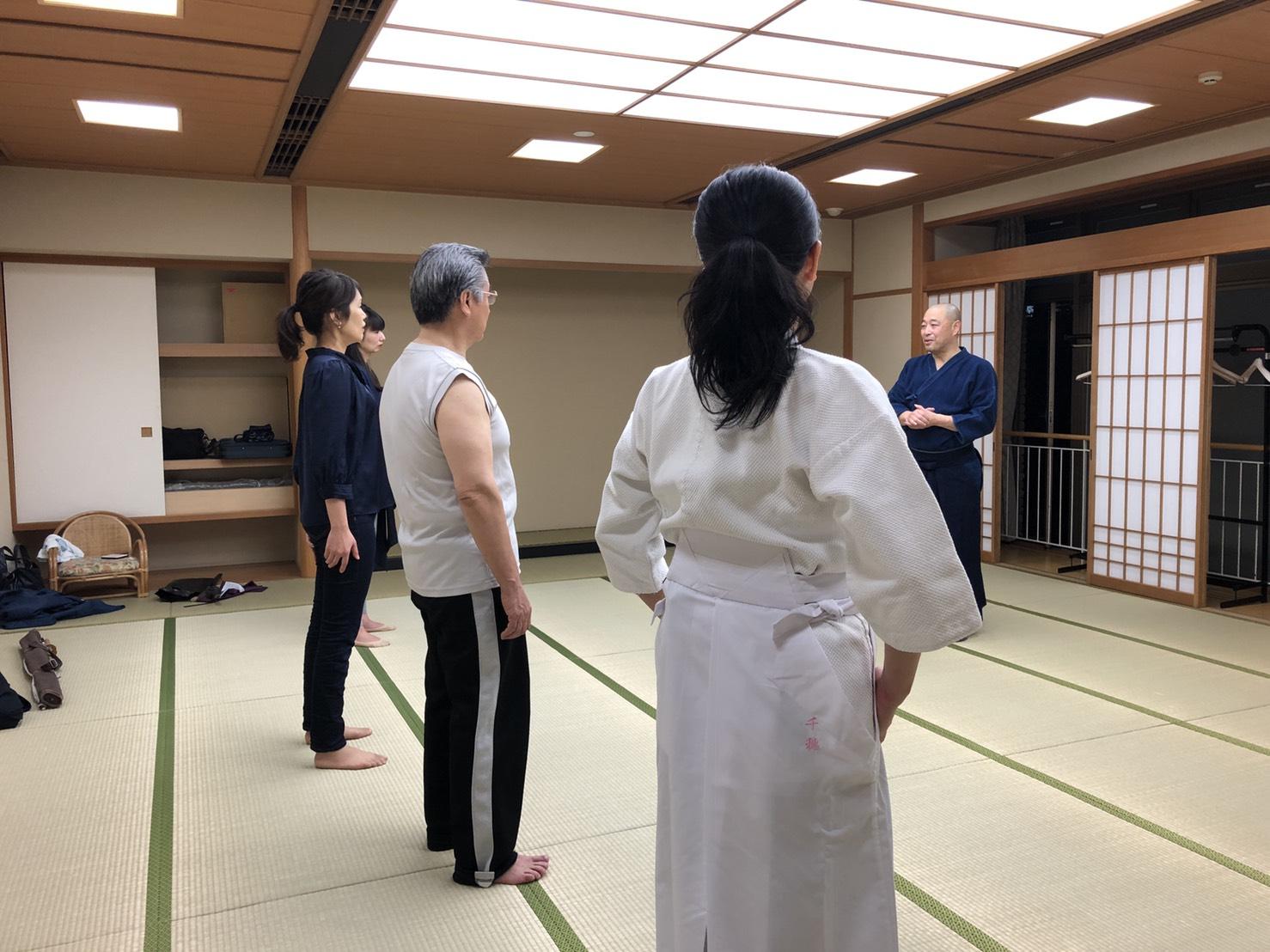 S  84181024 - 釈正輪老師、武道礼法&呼吸法開催