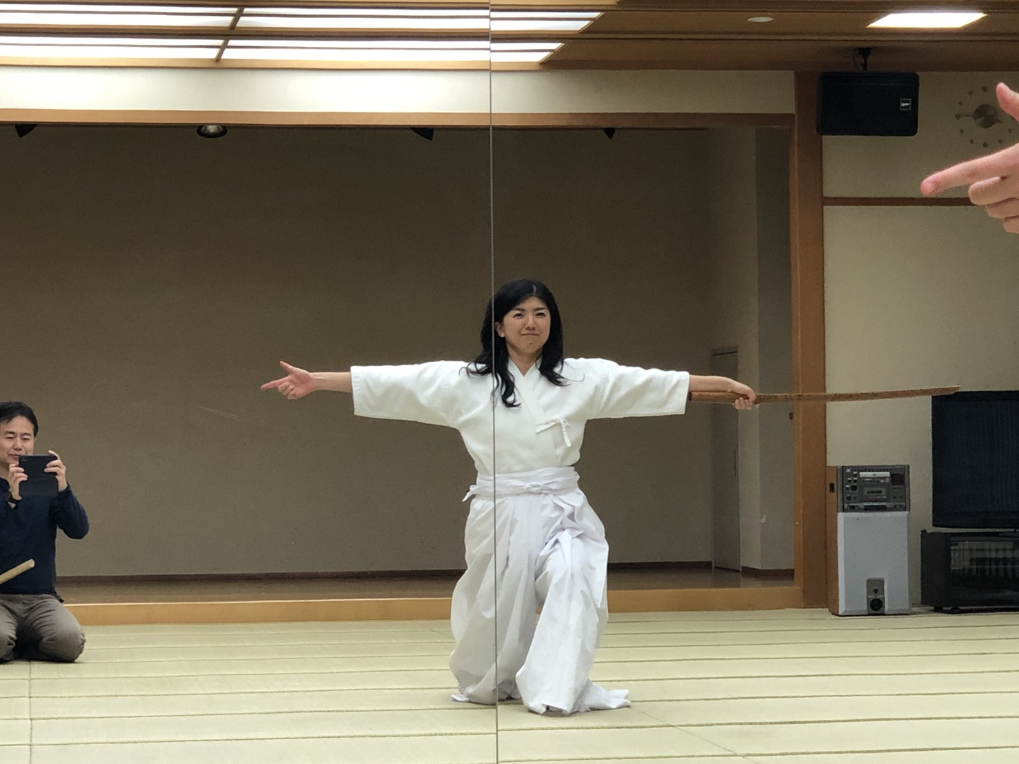 S  85254212 - 釈正輪老師、武道礼法&呼吸法開催